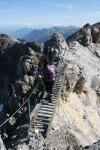 Leiter am Steinschartenkopf