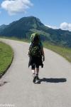 Von Oberjoch in Richtung Hinterstein